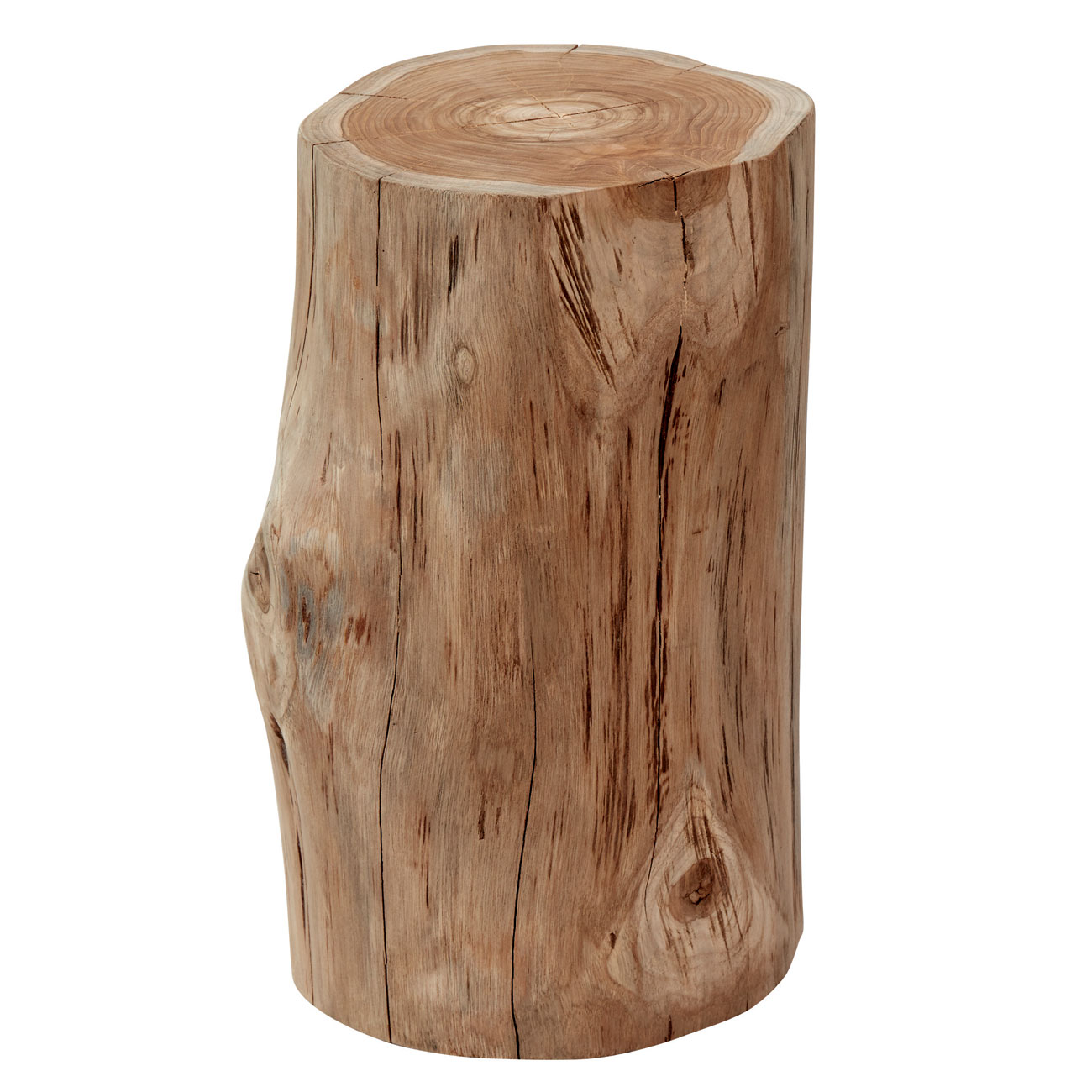 Gloster natural teak stool side table luxury outdoor living for Outdoor teak side table