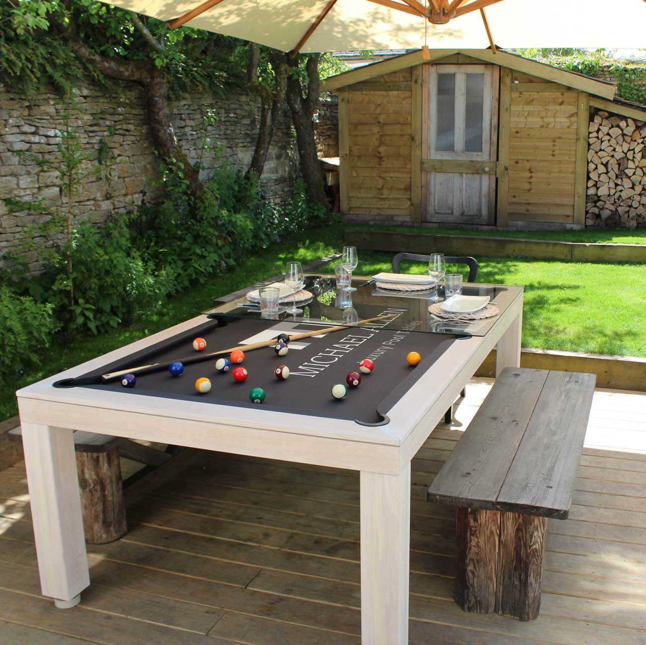 Outdoor Pool Table - Luxury Outdoor Living