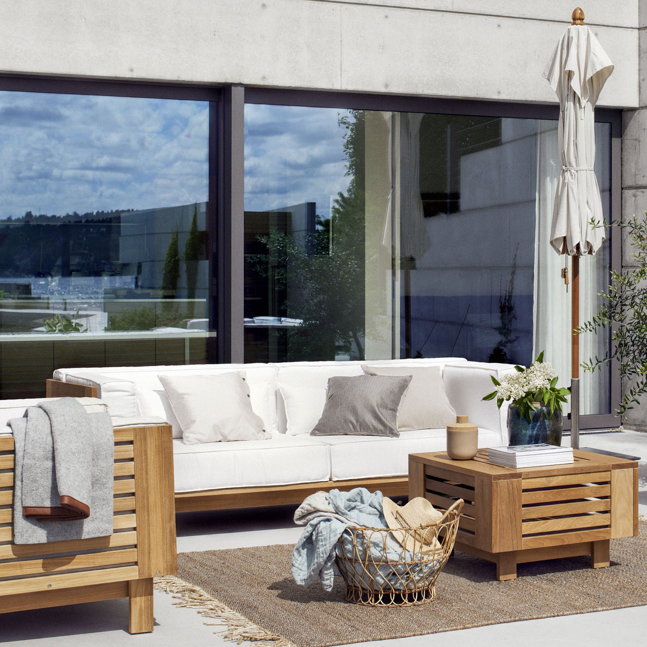Skargaarden skanor 3 seater sofa luxury outdoor living for Luxury outdoor living