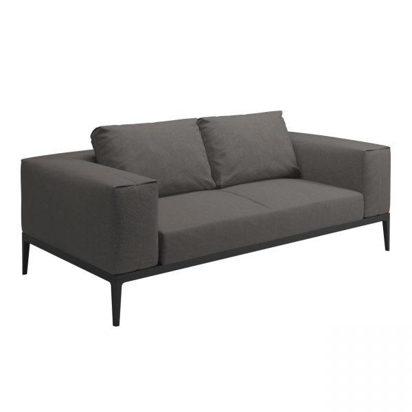 Gloster Grid modular 2 seater sofa