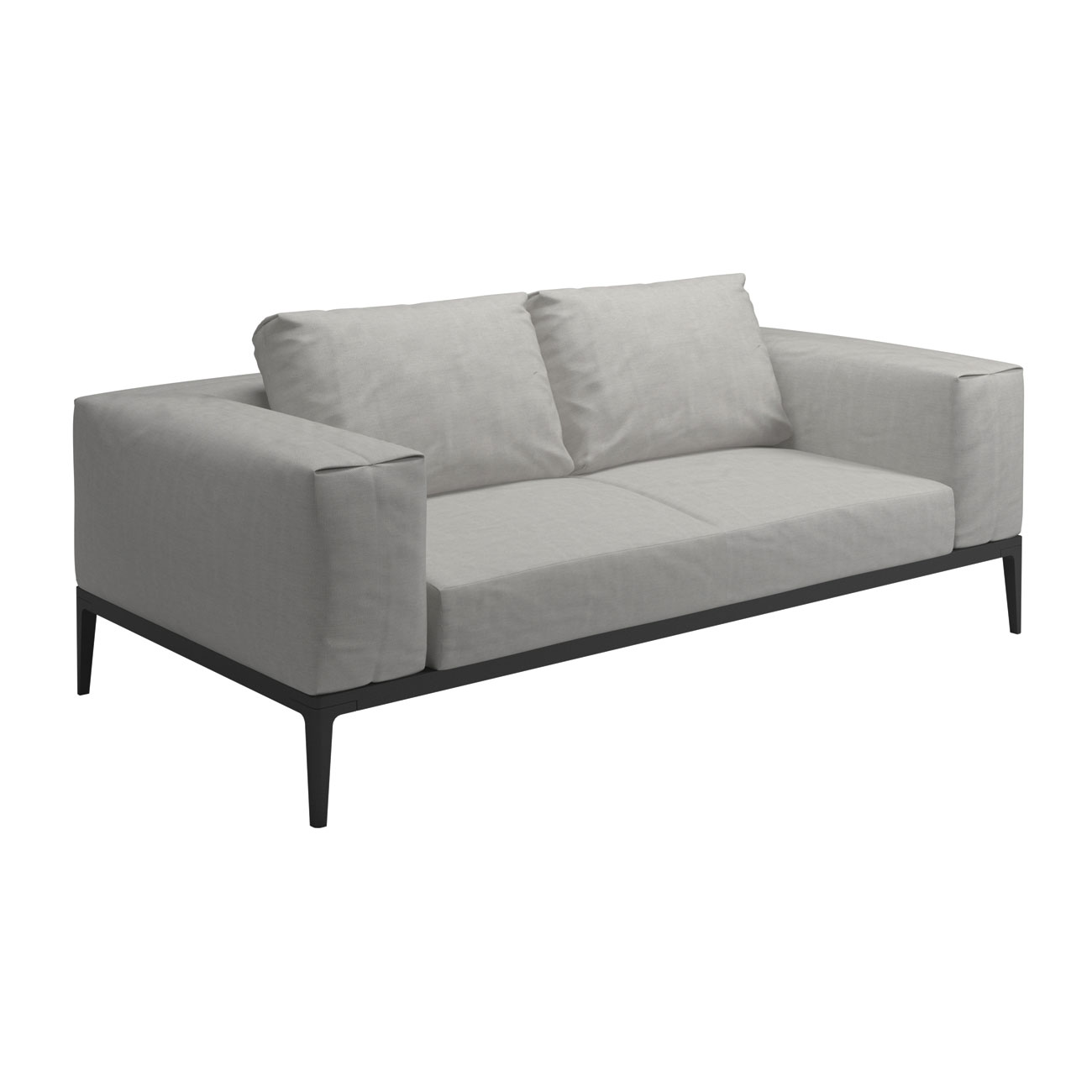Gloster grid modular sofa sofa unit luxury outdoor living for Sofa modular gris