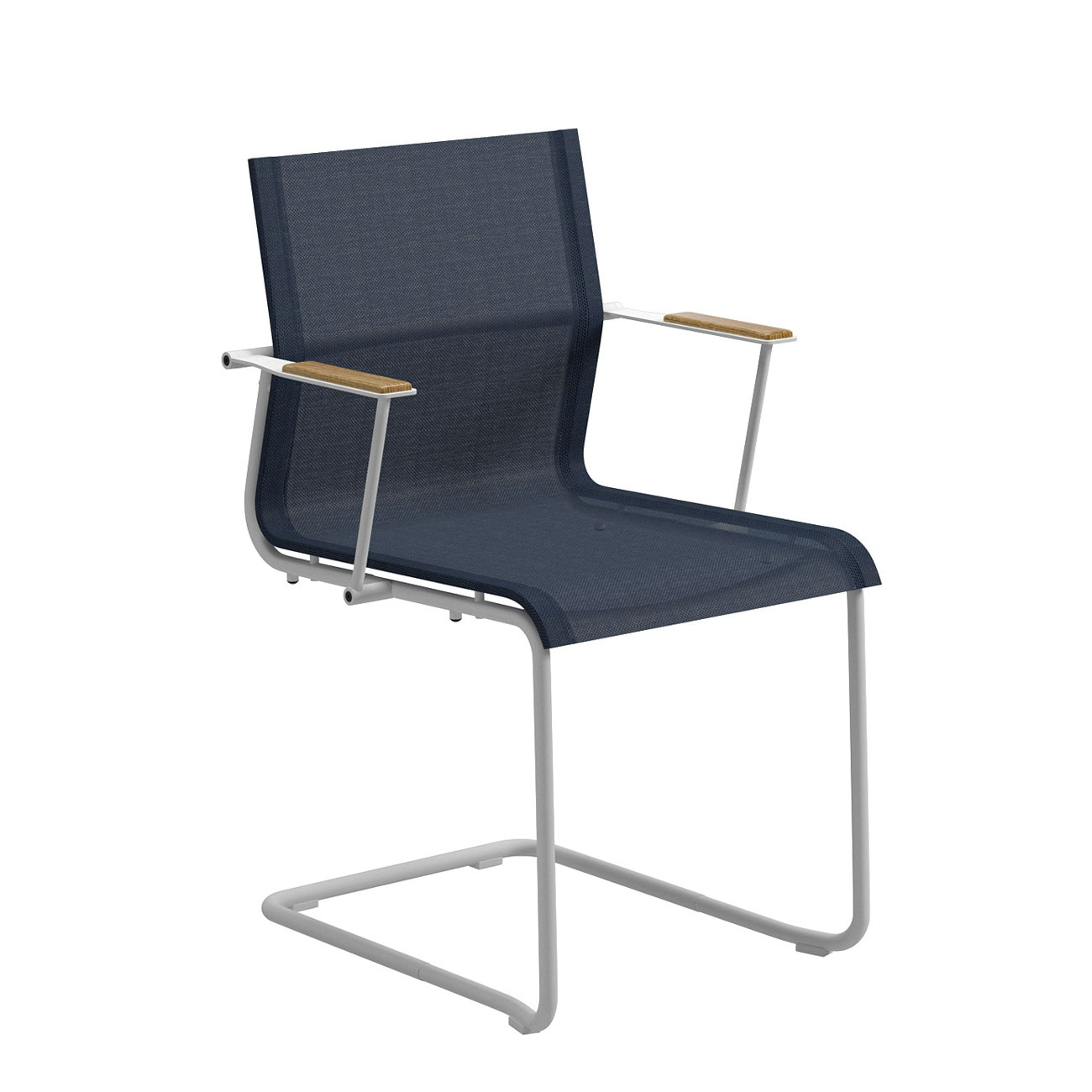 Oven Stabilizer Arm : Gloster sway stacking chair with arms white frame