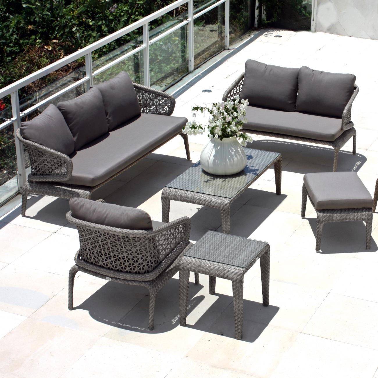 Skyline Journey Love Seat Luxury Outdoor Living