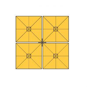parasol-square-quattro