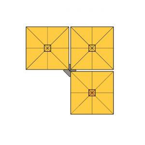 parasol-square-trio