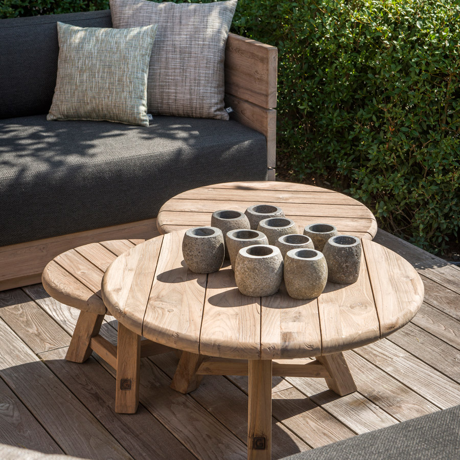 Gommaire Anton Coffee Table Set Of 3 Luxury Outdoor Living